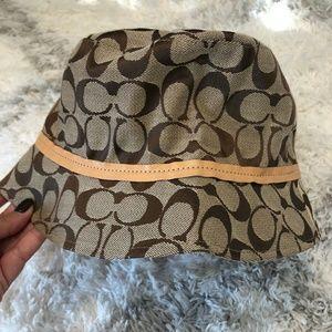 Coach Accessories - Coach Bucket Hat!
